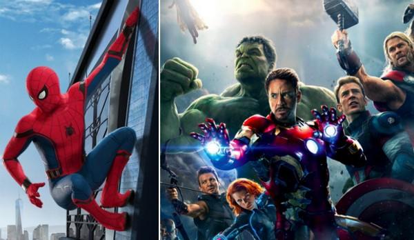 O Homem-Aranha e os Vingadores (Foto: Reprodução)