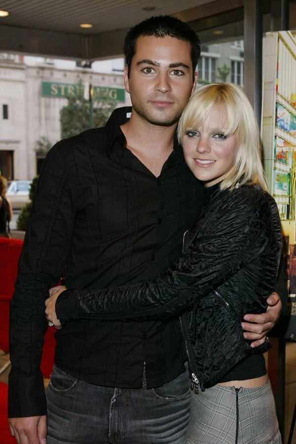 A atriz Anna Faris e seu ex, Ben Indra  (Foto: Getty Images)