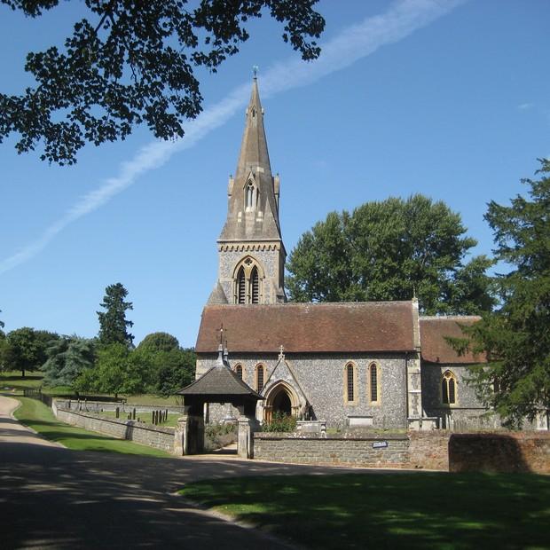 A igreja escolhida por Pippa Middleton é a St Mark's Englefield (Foto: Reprodução)