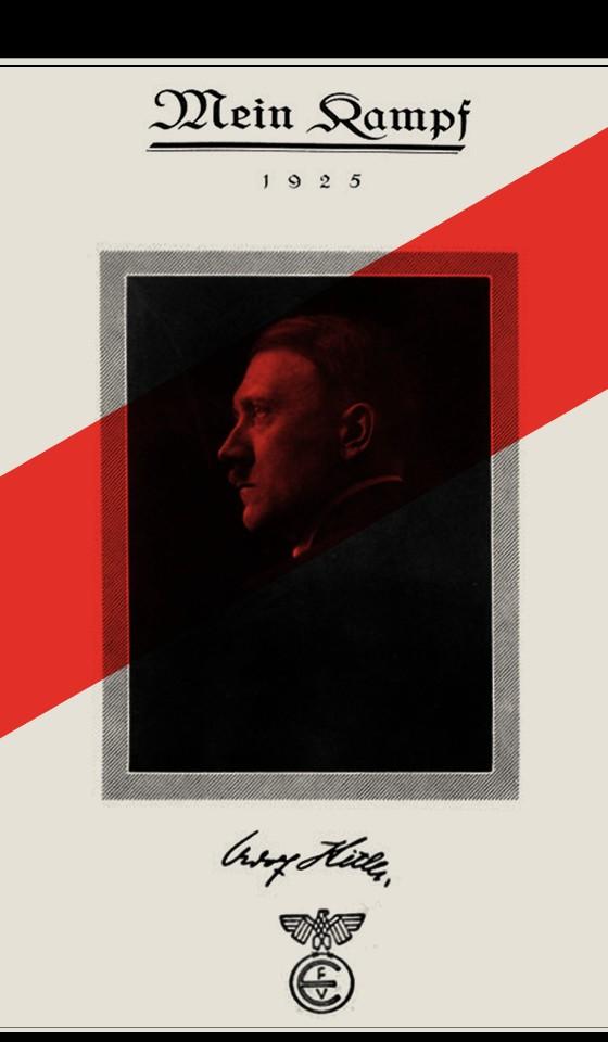 Livro Minha Luta de Hitler, banida há 70 anos (Foto: Reprodução)