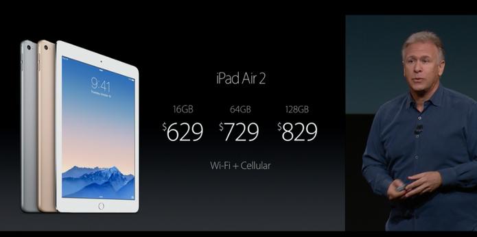 Preços do iPad Air 2 variam entre (Foto: Reprodução)