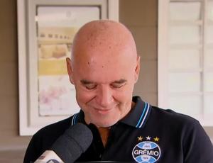 Valdir Espinosa, diretor do Grêmio (Foto: Reprodução SporTV)