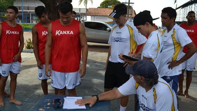 treino são francisco (Foto: Weldon Luciano/GloboEsporte.com)
