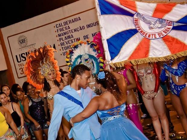 Comunidade já marca presença nos ensaios da Boa Vista. (Foto: Divulgação/GRES Independente de Boa Vista)