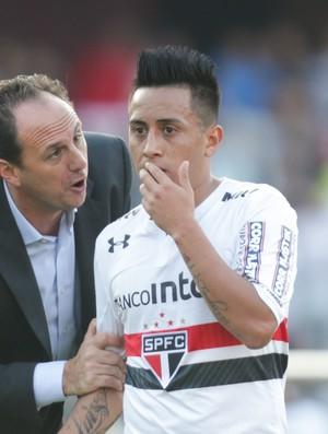 São Paulo x Fluminense Rogério Ceni Cueva