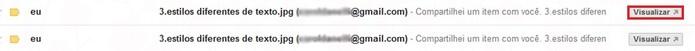 Atalho de acesso do Gmail para o documento do Google Docs (Foto: Reprodução/Carol Danelli)