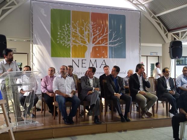 Ministro da Integração participa de cerimônia em Petrolina (Foto: Luana Benardes / TV Grande Rio)