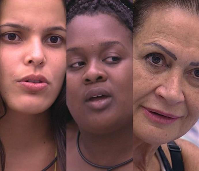 Emilly, Roberta e Ieda (Foto: TV Globo)