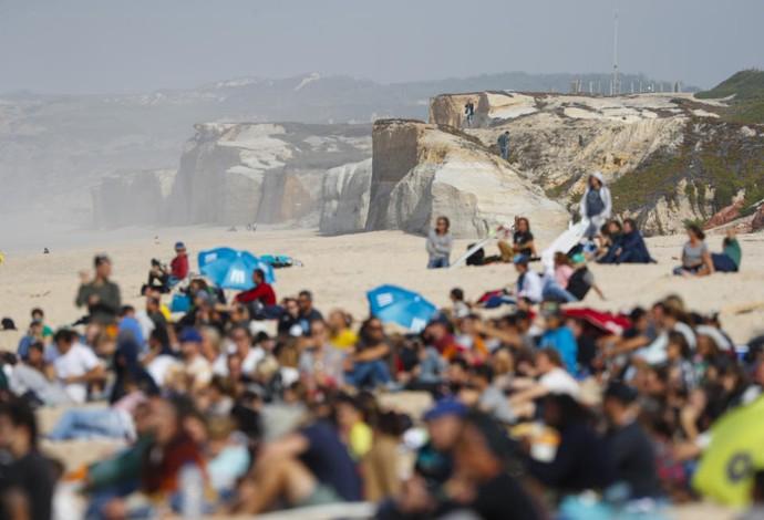 Pico Fabril etapa de Peniche Circuito Mundial de surfe (Foto: Damien Poullenot/WSL)