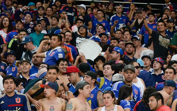Torcida Universidad de Chile cadeiras