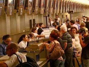 Aeroporto de Viracopos (Foto: Reprodução Globo News)