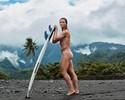 Líder do ranking mundial tira a roupa  e mostra corpo escultural em ensaio