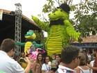 Bloco Jacaré do Açude Velho desfila nesta terça-feira em Campina Grande