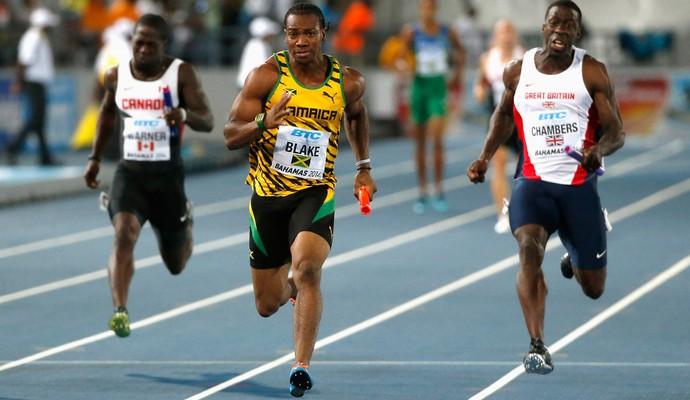 Atletismo Yohan Blake Jamaica Mundial  (Foto: Agência Reuters)