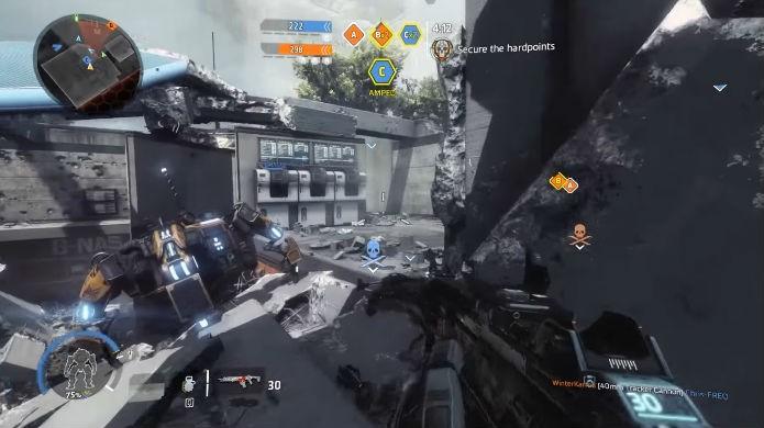 Titanfall 2: além das armas de fogo, use granadas com inteligência (Foto: Reprodução / Thomas Schulze)