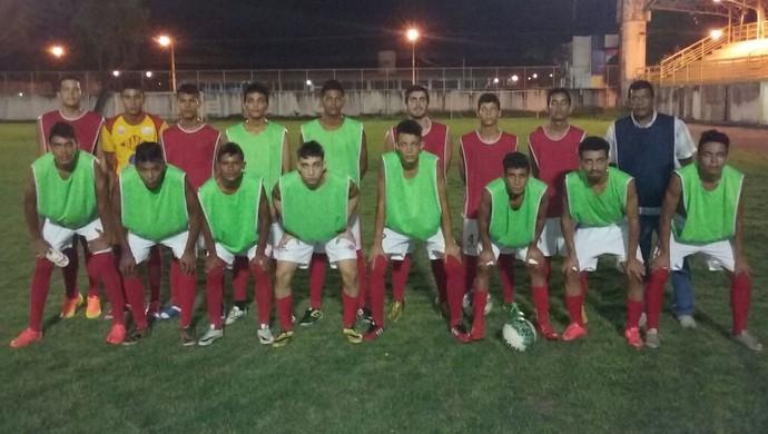 Equipe Sub-20 do Baré que iniciou a preparação para o estadual da categoria (Foto: Arquivo Pessoal)