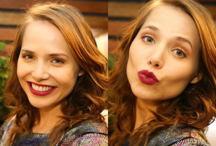 Letícia Colin vive Elisa na novela Sete Vidas  (Foto: Vídeo Show/TVGlobo)
