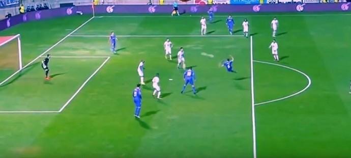Nacho, Cultural Leonesa x Real Madrid (Foto: Reprodução / Youtube)