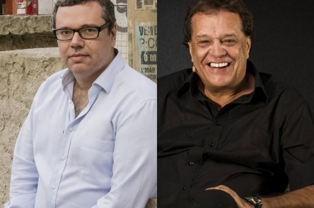João Emanuel Carneiro e Dennis Carvalho (Foto: TV Globo)
