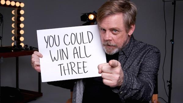 O intérprete de Luke Skywalker na saga Star Wars, o ator Mark Hamill (Foto: Reprodução)