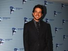 'Solteiro, mas não sozinho', diz Marco Pigossi em evento em SP