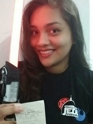Vanessa já garantiu ingresso para pré-estreia do longa (Foto: Arquivo Pessoal/Vanessa Fernandes)
