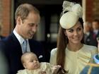 Casal real sobre o batizado do príncipe George: 'Bastante animados'