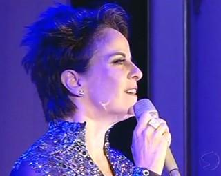 A cantora Leila Pinheiro abriu o Festival Vale do Café (Foto: Reprodução)