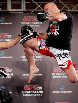 Wanderlei Silva no treino do UFC (Foto: Divulgação / UFC)