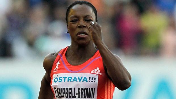 veronicaCampbell-Brown - Ostrava República Tcheca (Foto: Ag.Reuters)