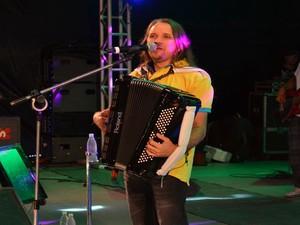 Dorgival Dantas canta pela primeira vez no Forrozão 2013 como uma das atrações principais (Foto: Flávio Antunes/G1)