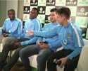 """Agüero pede para Yaya Touré escolher United em videogame: """"Seria um traidor"""""""