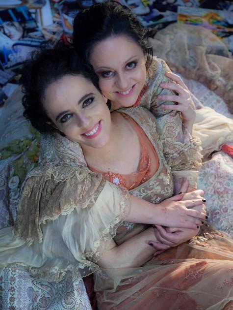 SIlvia Buarque e Guta Stresser (Foto: Divulgação)
