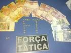 Comerciante de drogas em bicicletaria  (Polícia Militar/ Divulgação)