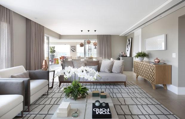 Cores e estampas d o toque feminino e moderno em for Pisos para apartamentos modernos