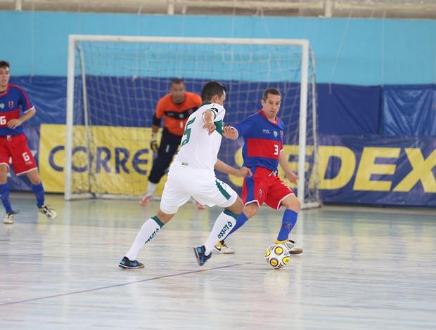 Alecrim derrota Goiás e é campeão da Taça Brasil de Futsal, em Assú (Foto: Zerosa Filho/CBFS/Divulgação)