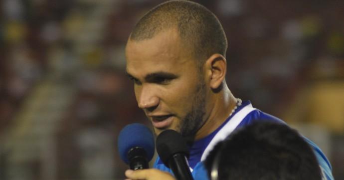 Everson, goleiro do Confiança (Foto: Felipe Martins)