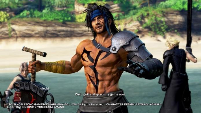 Dissidia Final Fantasy NT (Foto: Reprodução/Felipe Vinha)