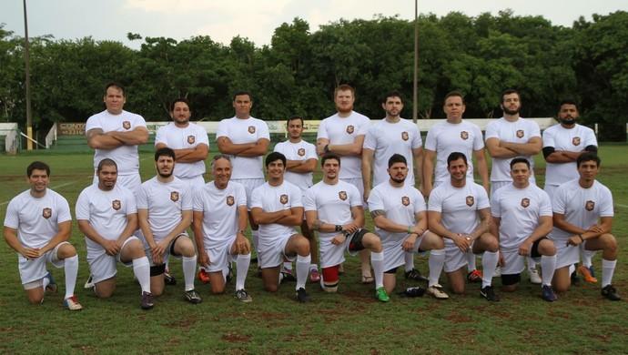 Cuiabá Olds, time de veteranos do Cuiabá Rugby Clube (Foto: Divulgação/Cuiabá Rugby)