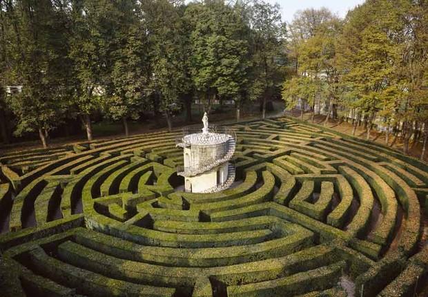 O labirinto da Villa Pisani, em Stra (Foto: Divulgação)
