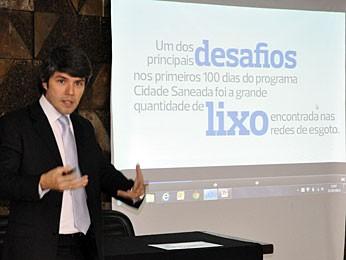 Fernando Mangabeira - Foz (Foto: Divulgação / Imprensa Compesa)