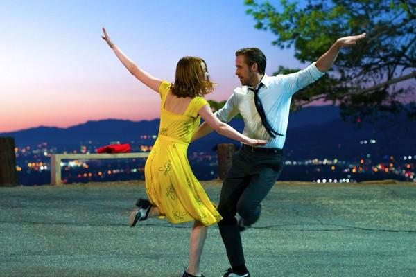 Emma Stone e Ryan Gosling em cena de La La Land (Foto: Divulgação)