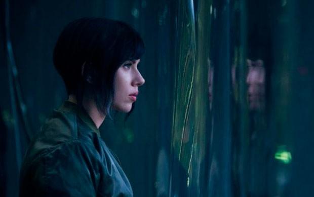 Scarlett Johansson em 'Ghost in the shell' (Foto: Divulgação/Paramount)