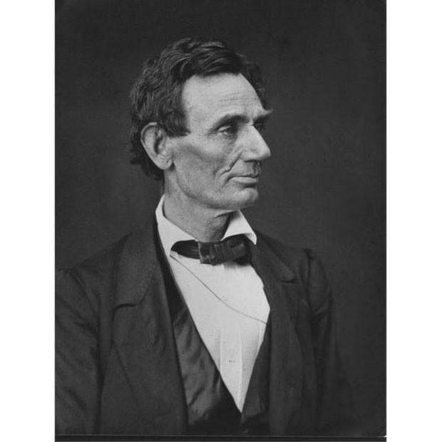 Retrato do ex-presidente americano Abraham Lincoln (Foto: Biblioteca do Congresso dos EUA)