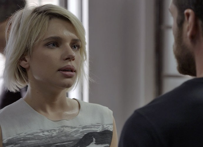 Belisa implora para Dante soltar Juliano (Foto: TV Globo)