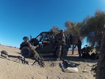 Brasileiros participam de operação no Mali (Foto: Diego Gonzales/Arquivo Pessoal)