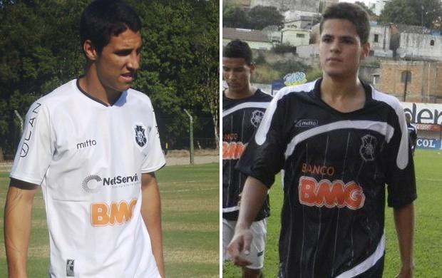 Myller e Ramon, jogadores do Sub-20 do Rio Branco-ES (Foto: Deysiane Gagno/Rio Branco AC)