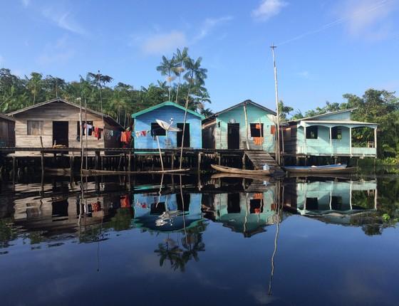 Comunidade São Ezequiel Moreno, município de Portel (PA), cria Fundo Solidário Açaí (Foto: Centro de Empreendedorismo da Amazônia/ Raphael Medeiros)