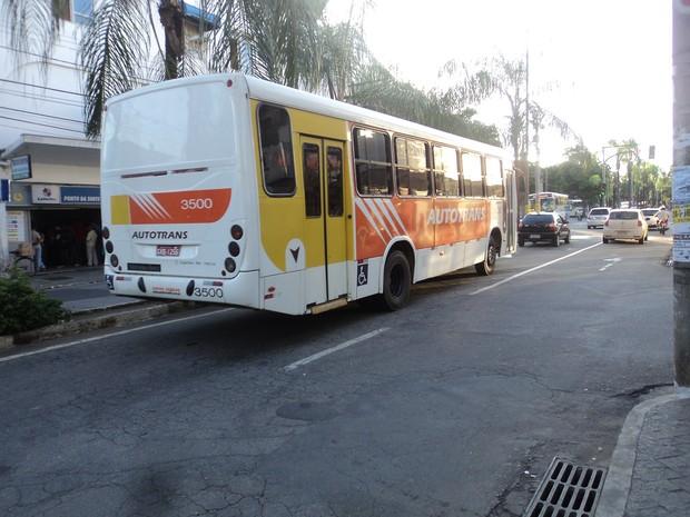 PL solicita autorização para que o município promova a concessão, mediante licitação, do serviço público de transporte coletivo. (Foto: Patrícia Belo / G1)