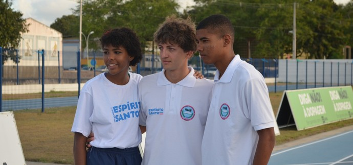 hugo otoni, atletismo, thaís otoni (Foto: Lucas Barros / GloboEsporte.com/pb)